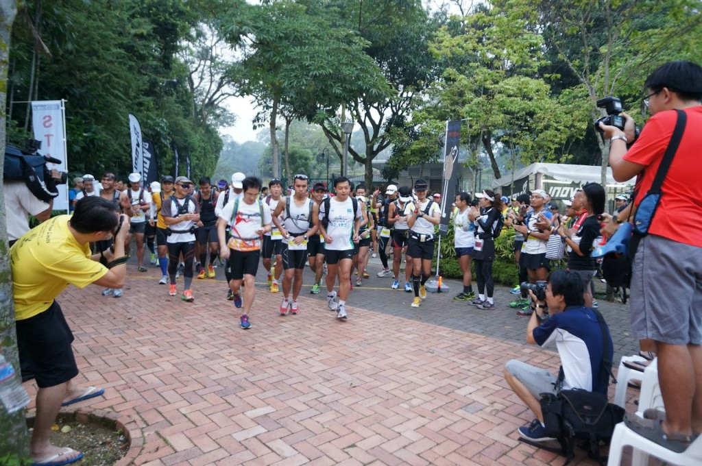 Start running at a comfortable pace. Photo by: run.guung.com