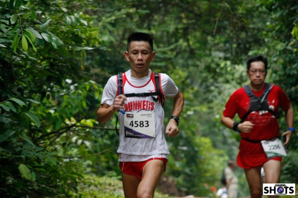 Lexxus Tan @ The North Face 25km, 2014.