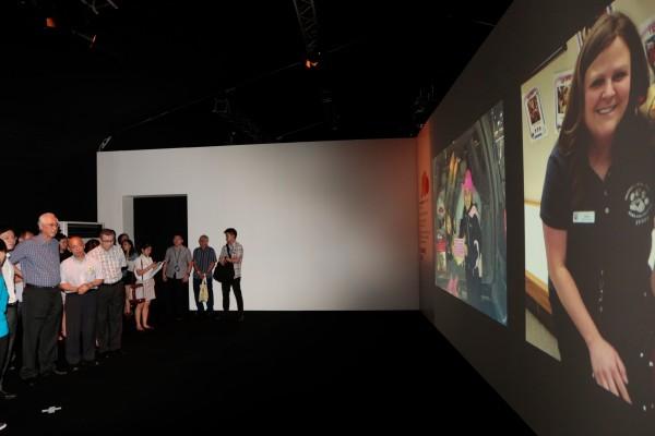 ESM Goh touring the Imagination exhibition, Credit: SKM.