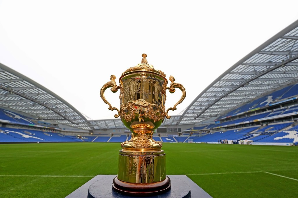 Who will lay their hands on the Web Ellis Cup for the next 4 years? Photo by: www.rugbyworld.com
