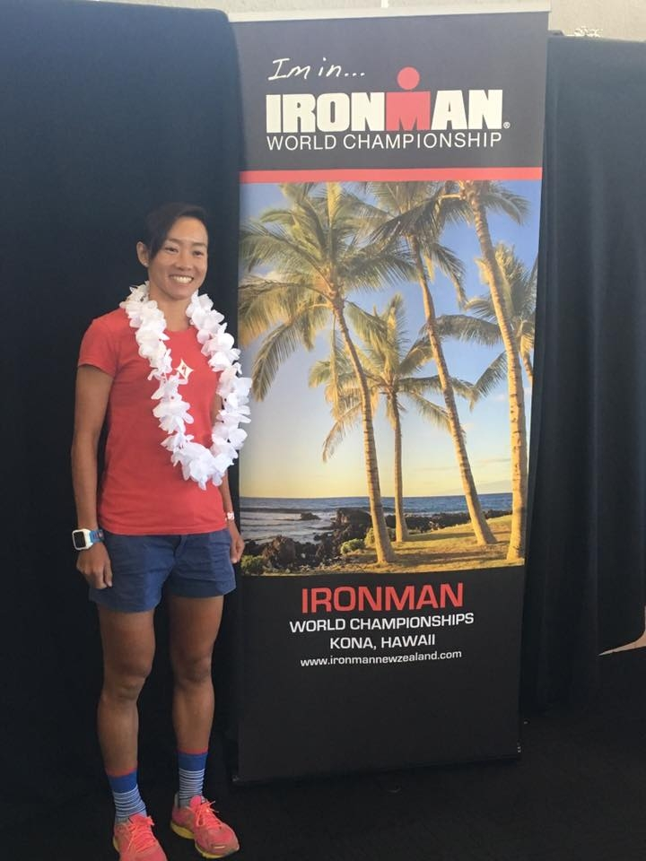 Ling heads to Kona for the 3rd time, this year. [Photo: Facebook/Choo Ling Er]