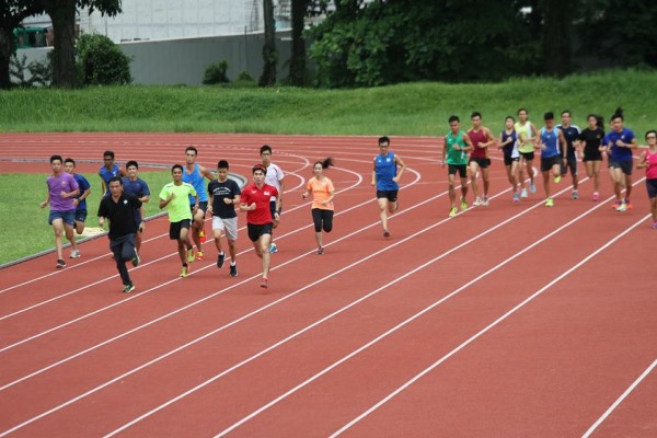 Accompany Soh on a short jog. Source: Wings Athletics Club.
