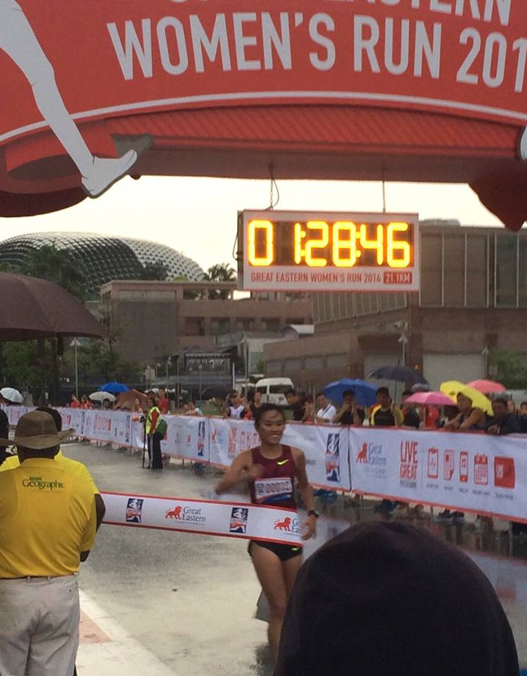 Top GEWR Singaporean finisher, Mok Ying Rong.
