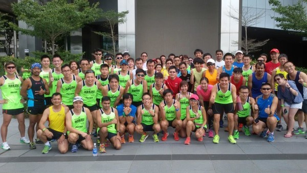 The second running clinic for NTUC Income RUN350 is well under way.