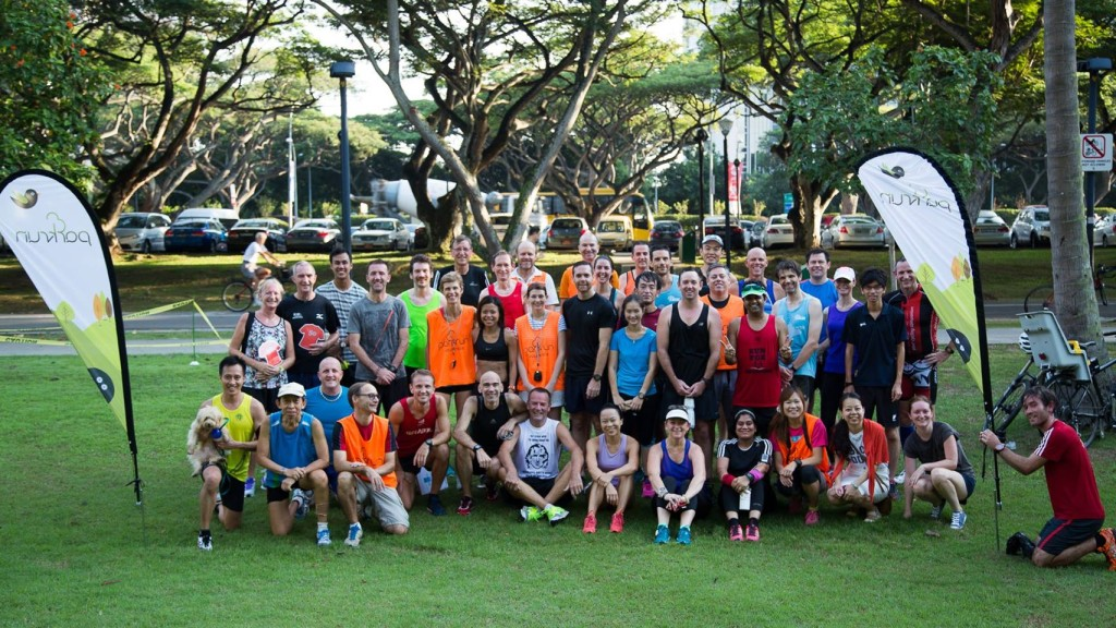 A near-record turnout of parkrunners were at last weekend's event. Photo by: East Coast Park parkrun.