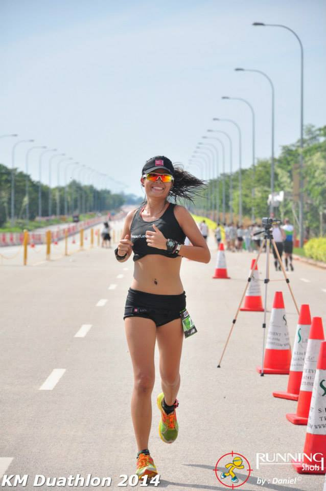 Jayve Goh is passionate about sports and keeping fit. Credit: Running Shots.