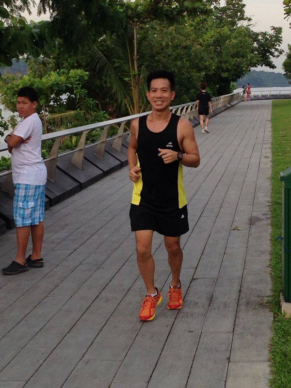 Exercise Physiologist Ray Loh.