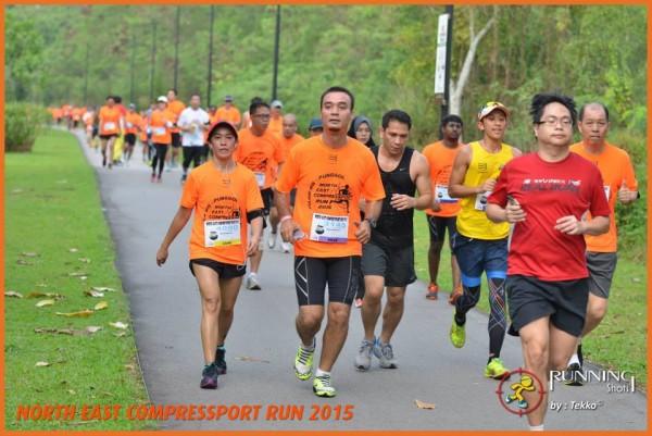 Runners taking part in the NE Compressport Run 2015. (Photo: Running Shots).