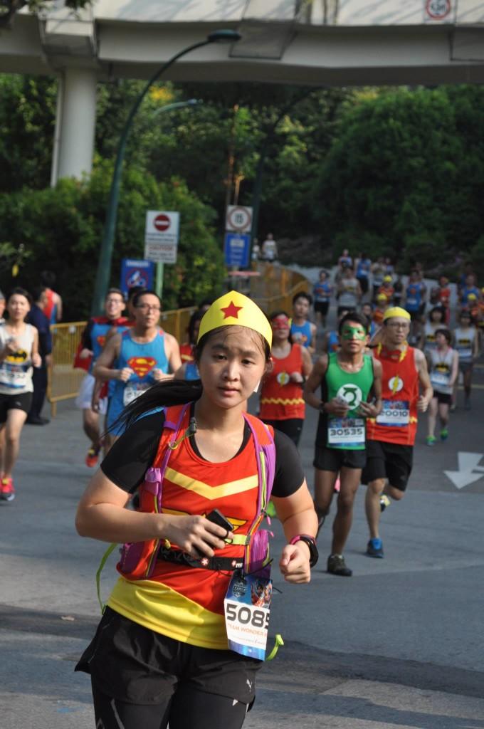 Focused hard on the run. Photo Credit: Run Shoot Repeat.