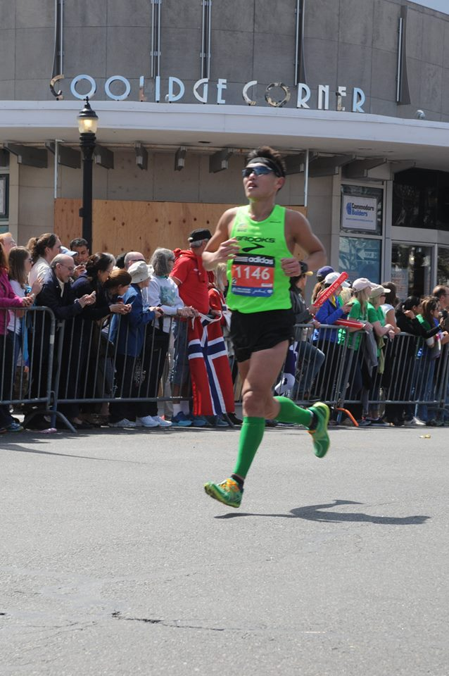 Boston Marathon 2014. (Credit: MarathonFoto)