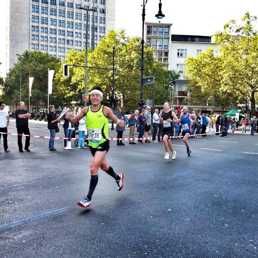 Berlin Marathon 2014. (Credit: Mr Nicolas Welsi)
