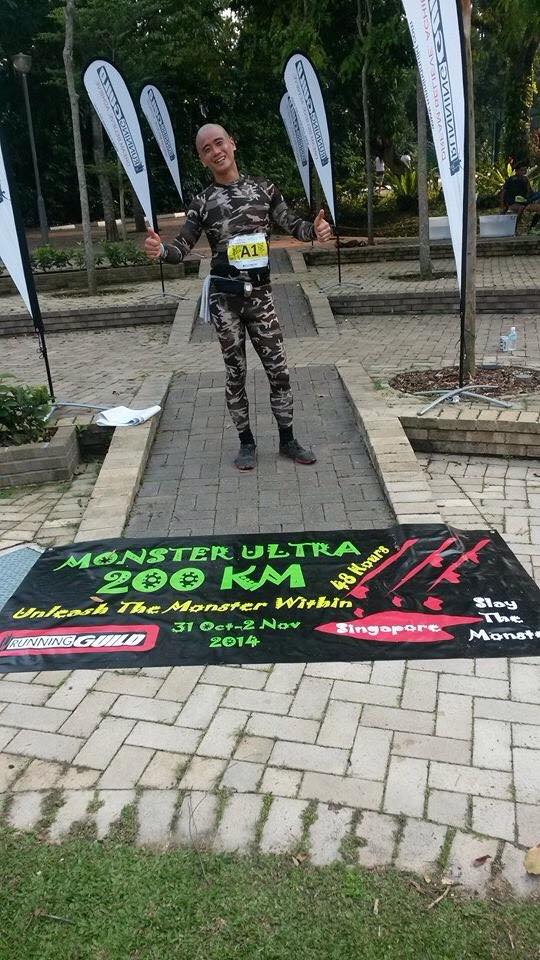 Satay Runner conquers his 100km relay leg at Monster Ultra.
