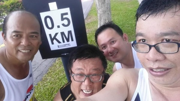 Only 500 more metres to go before the 91km mark!