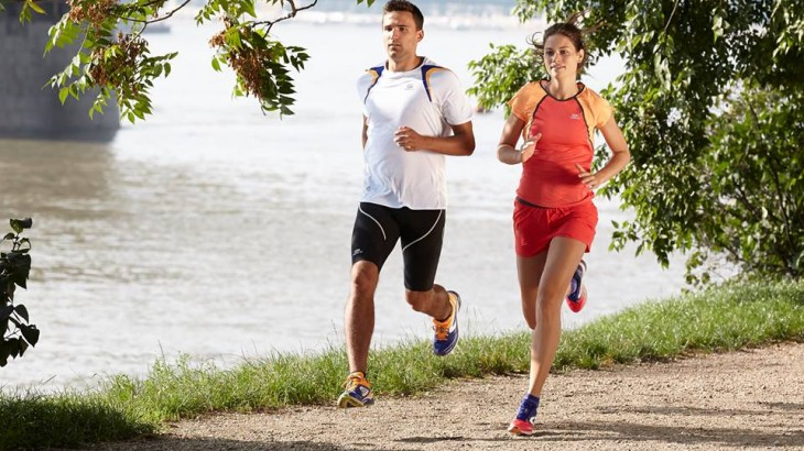 You should run at a slower pace to burn fats. Photo by: www.decathlon.in