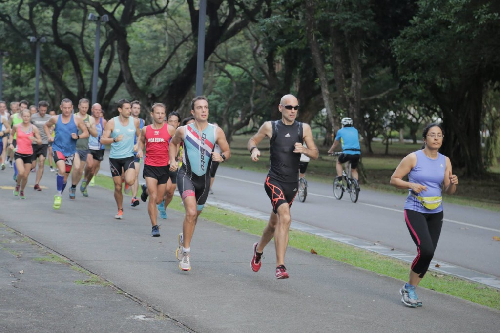 Parkrunners in action. Photo by: Photo by: East Coast Park parkrun.