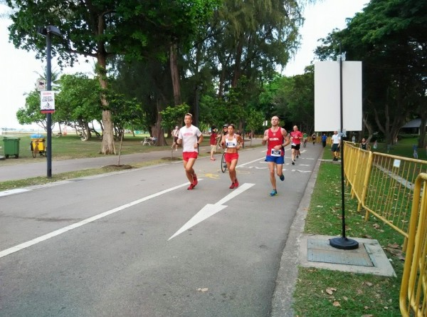 Runners are well on their way. Photo: ISCA.