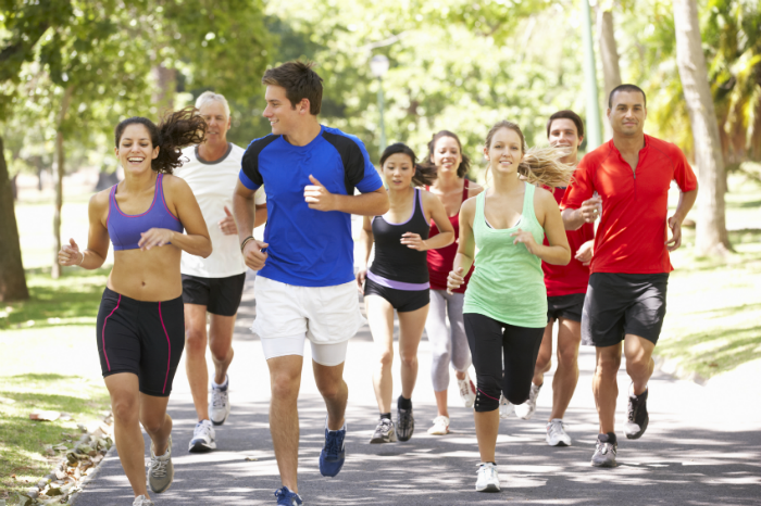 Many runners typically like the community aspect of group runs.