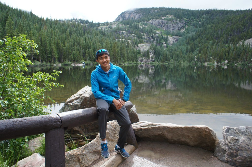 Local marathoner Mok Ying Ren is pursuing his olympic dream in Boulder, Colorado. Photo by Belinda Ooi.