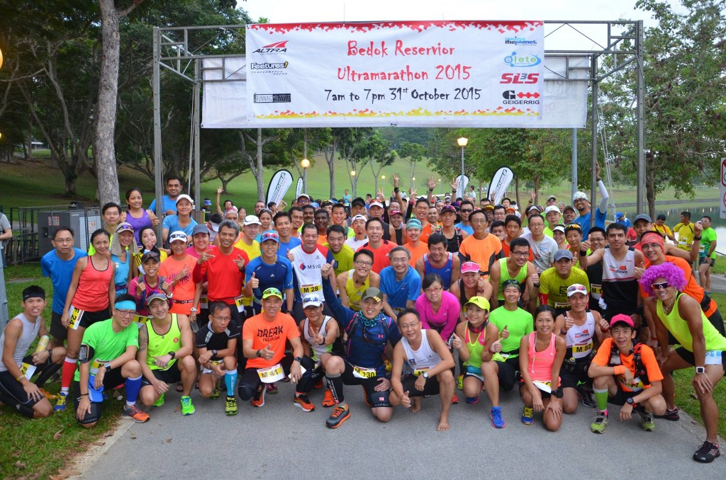 Bedok Reservoir Ultra Marathon took place last Saturday. (Photo by Running Guild)