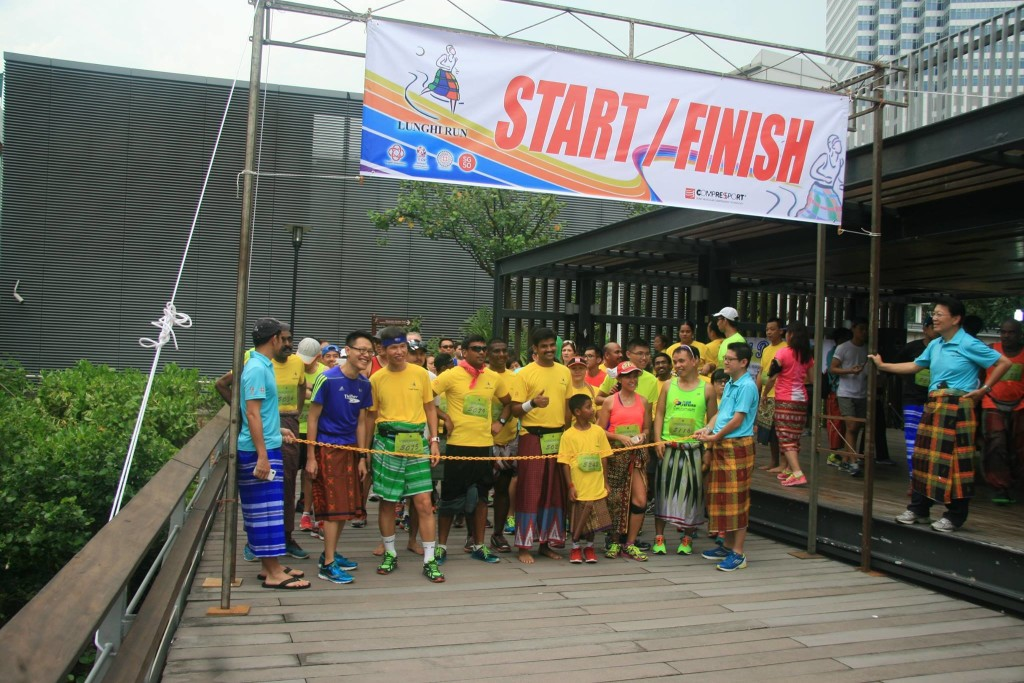 The run is about to begin. Photo credits: Tony Ton Ton