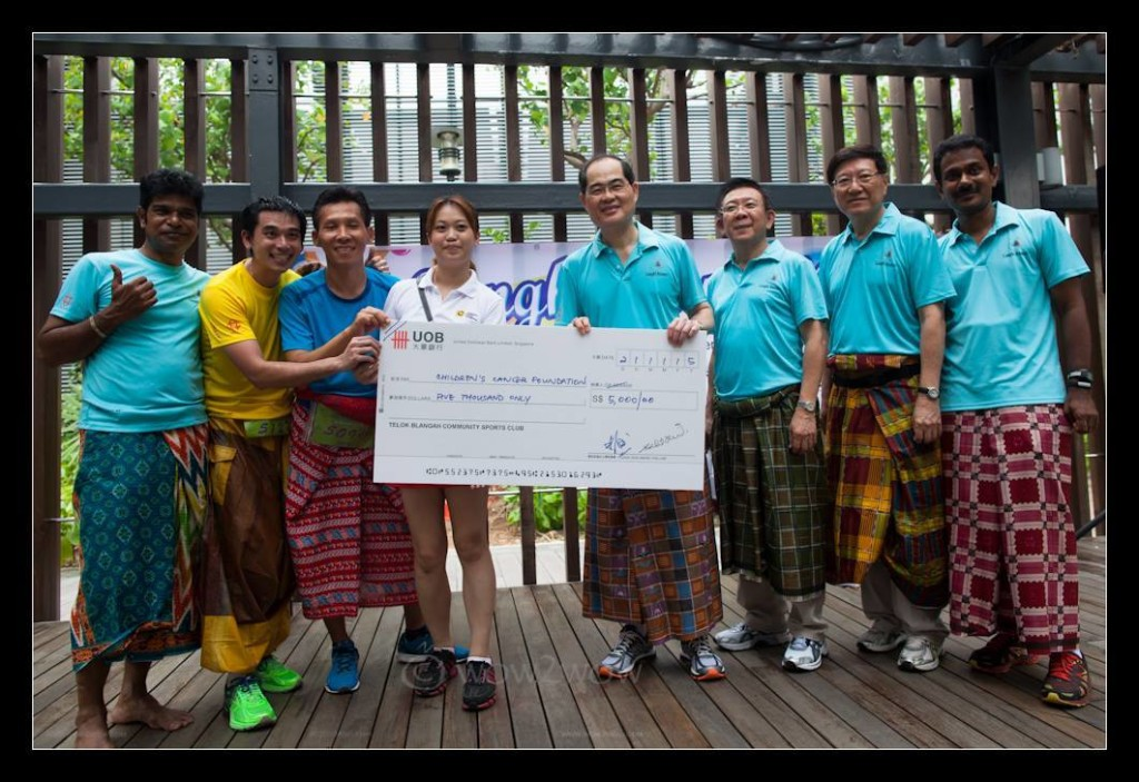 $5,000 was raised for the Children's Cancer Foundation. Photo credits: Ming Ham