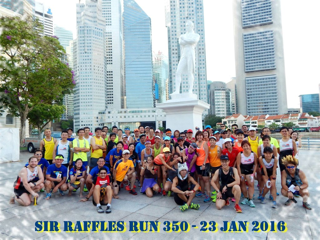 About 80 runners turned up. [Photo: Facebook/Tay Guan Kiat]