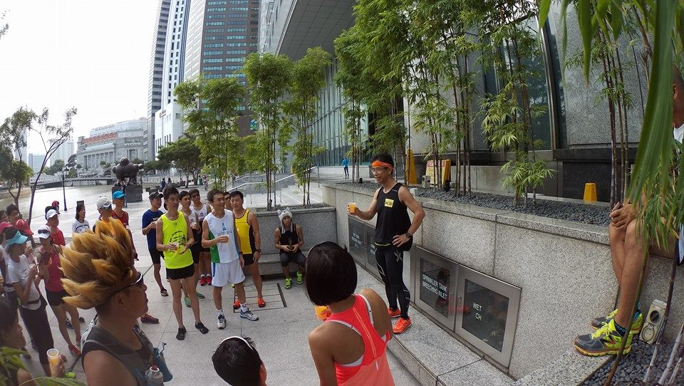 Gen Yasuda is popular in the Singapore running community. [Photo: Facebook/Melvin Tan]