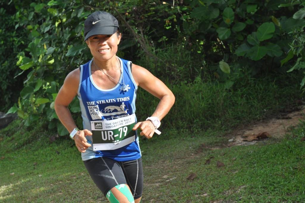 Faith Tan is a local ultra running champion. [Photo taken by Tan Kim Lai]