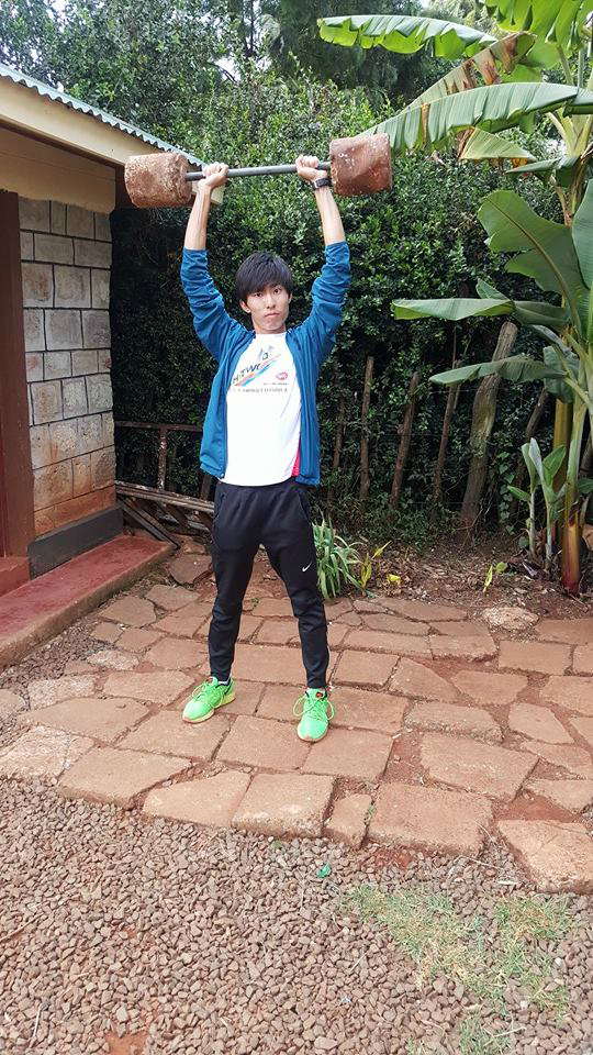 Soh had a great time in Iten, Kenya.