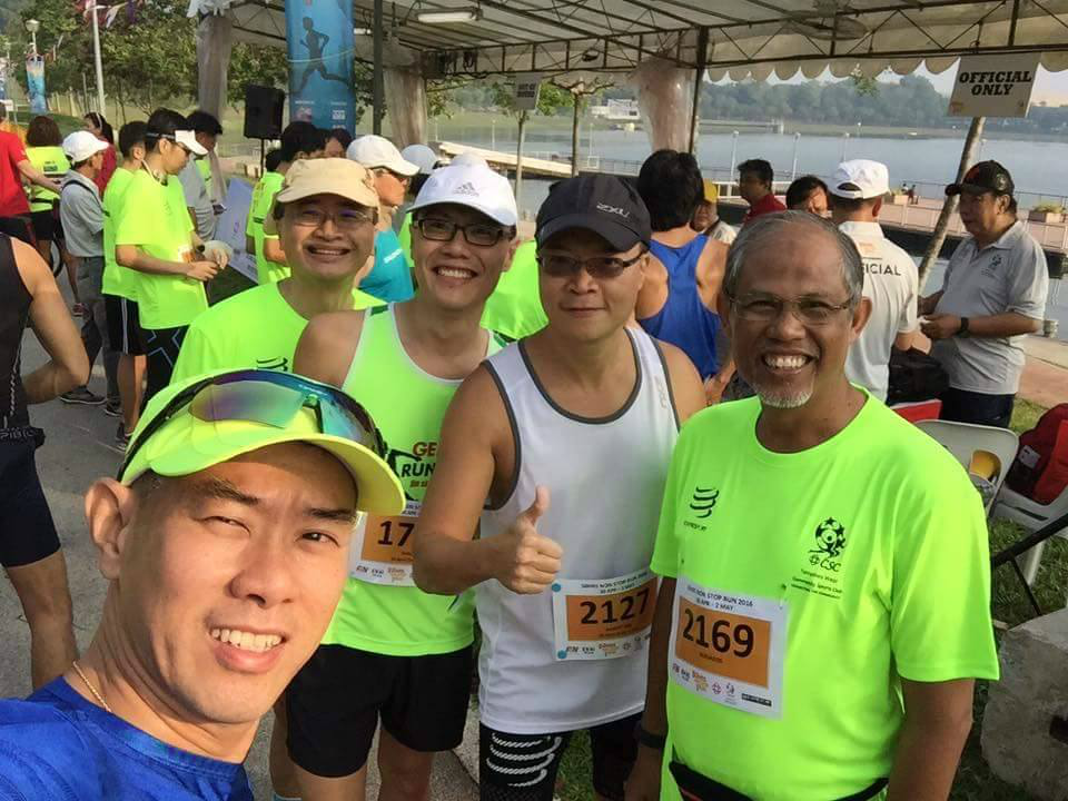 The 50 Hours Run was a great way to mingle and get together. [Photo by Huang ShaoFei]