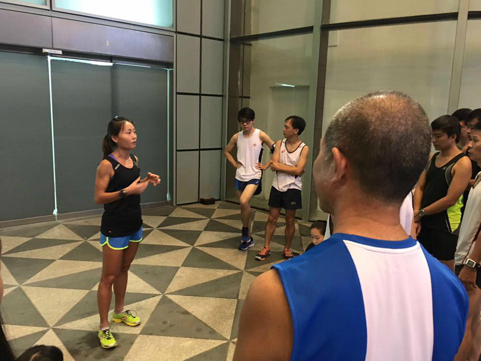 Dr Lim advises runners to manage their long training runs. [Photo by ASICS running club]