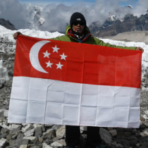 Singapore Blade runner made it to the Everest base camp this year.