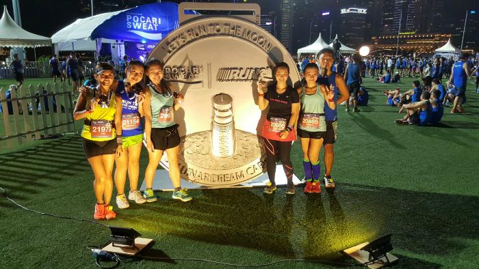 Everyone had so much fun at the Pocari Sweat Run Singapore.