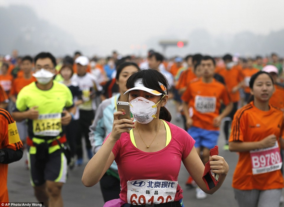 The rate of lung cancer is rising in places like China. [Photo from DailyMail]