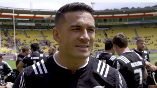 Sonny Bill Williams tasted victory in his Rugby 7s debut. [Photo: Twitter/Sydney Morning Herald]