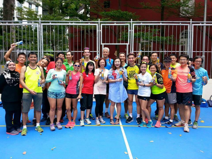 Many of the runners found the session to be useful and beneficial. [Photo courtesy of Carol Goh]