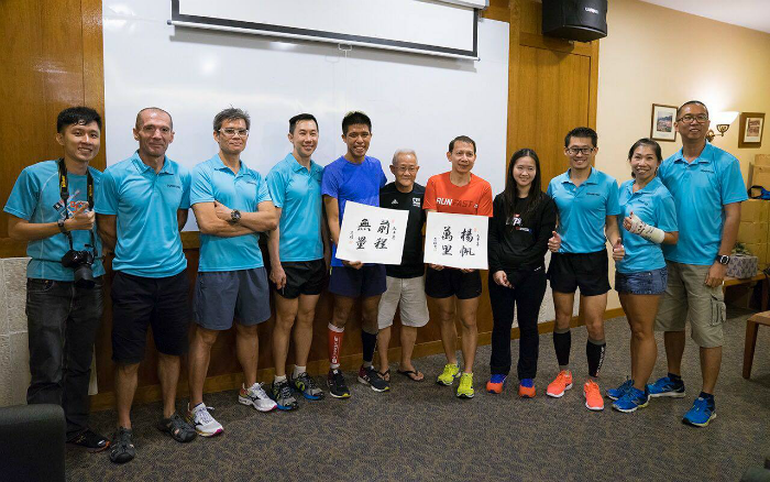 With the committee members and the two speakers after the session. [Photo credit to Wong Mun Wai]