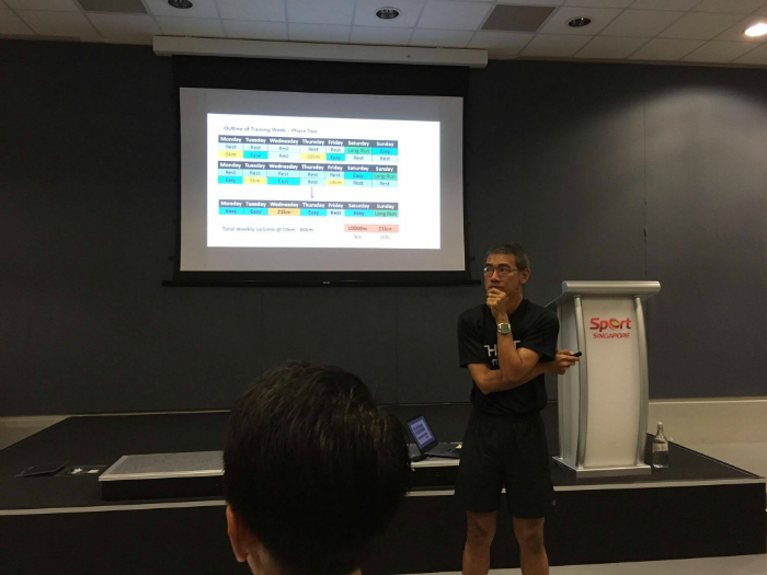 Coach Quek details how he had structured Neo's training programme.