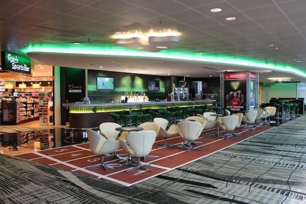 The Carlsberg sports bar. Photo: Carlsberg Singapore.