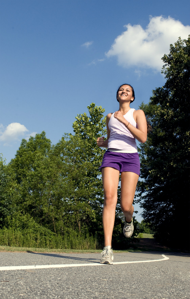 Running is a good thing, until it causes harm to the body. [Photo from CDC/ Amanda Mills]