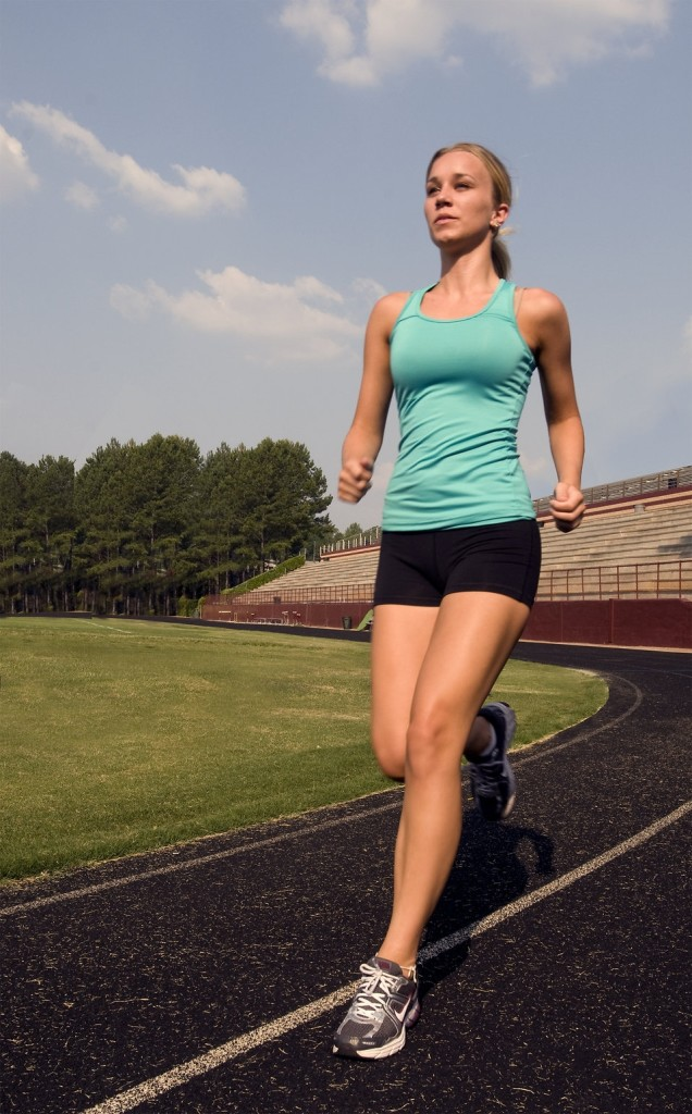 Do you know the right way to breathe when you are running? [Photo from CDC/ Amanda Mills]