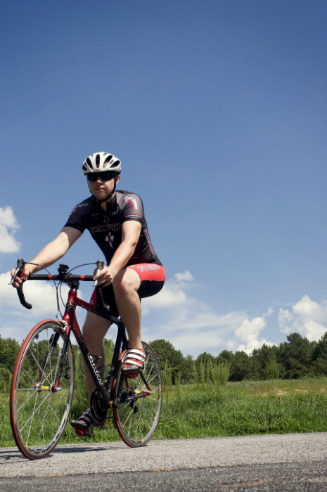 Cycling may cause feet problems if cyclists do not take care. (Photo Source: CDC/ Amanda Mills acquired from Public Health Image Library (Website))