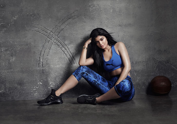 d4c31692256 Photo courtesy of Puma. Kylie Jenner will front the Puma Fierce Training  Shoes  ...