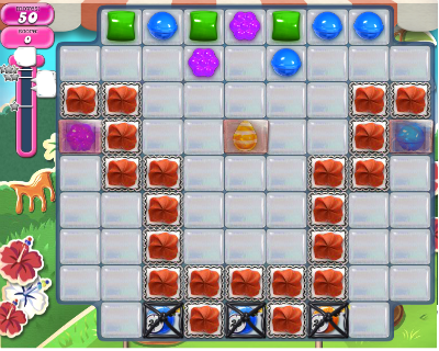 How can you beat Candy Crush Level 191? (Taken from Candy-Crush-Wikia)