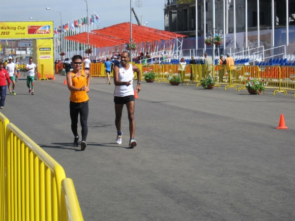 One of Edmund's most memorable races, the 2012 IAAF World Cup in Russia.