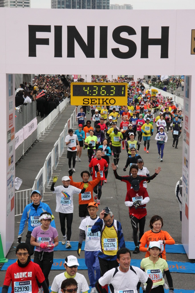 You want to finish the marathon strong. [Photo from en.wikipedia.org]
