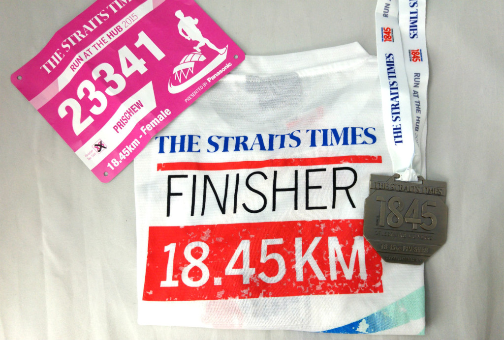 ST Run 18.45km Finisher.