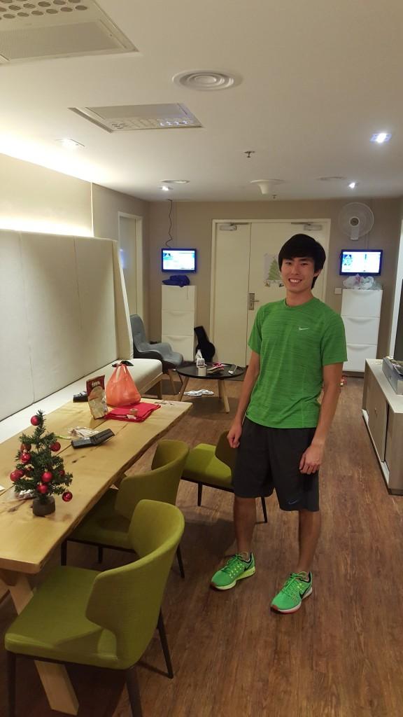 Soh Rui Yong inside the Altitude House. [Photo: Soh Rui Yong]