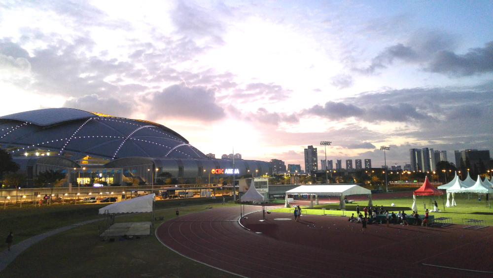 The team is eager to see and play at the new National Stadium.