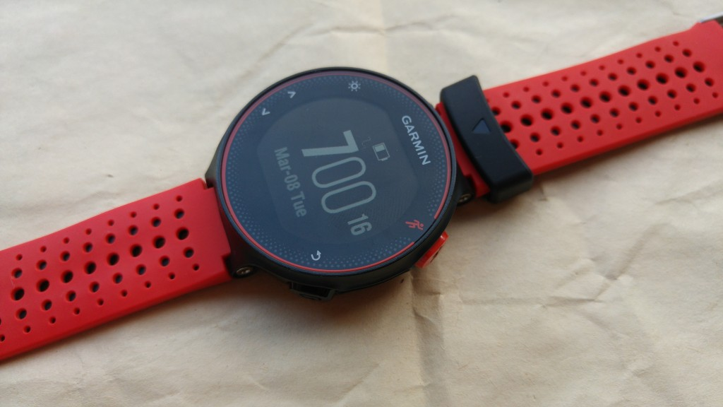The Forerunner 235 is a very comprehensive running smartwatch.